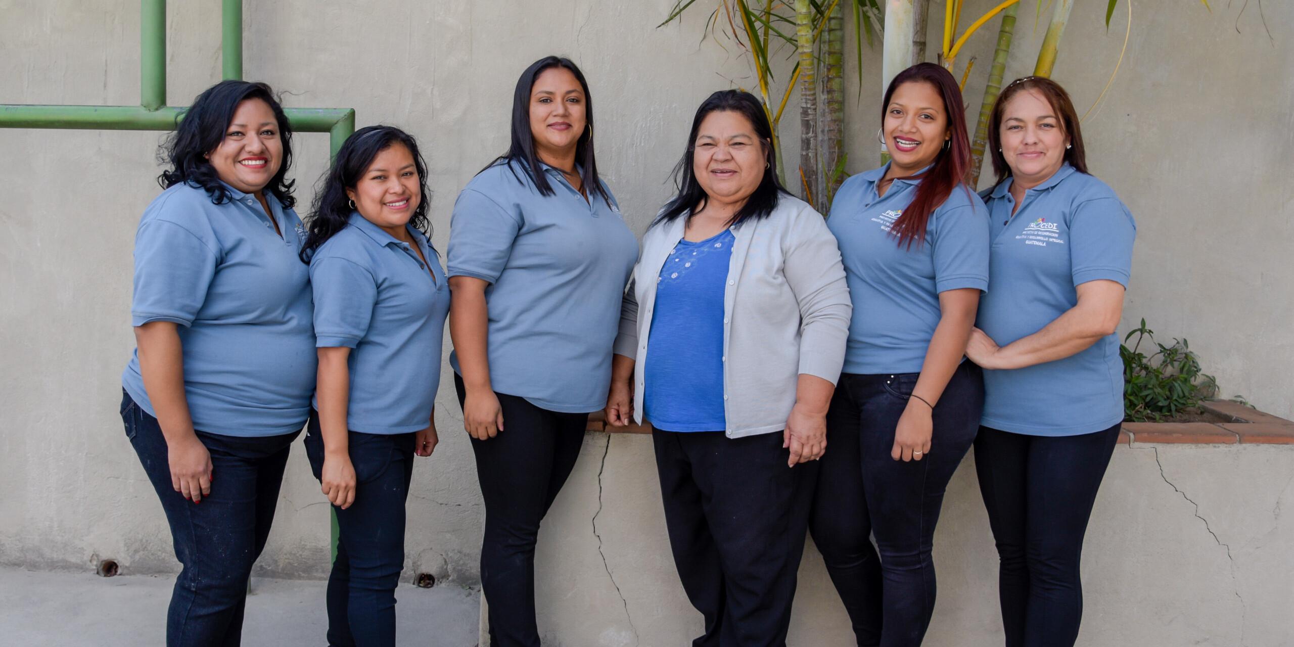 Das Lehrerinnen-Team